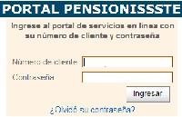 Portal Pensionissste